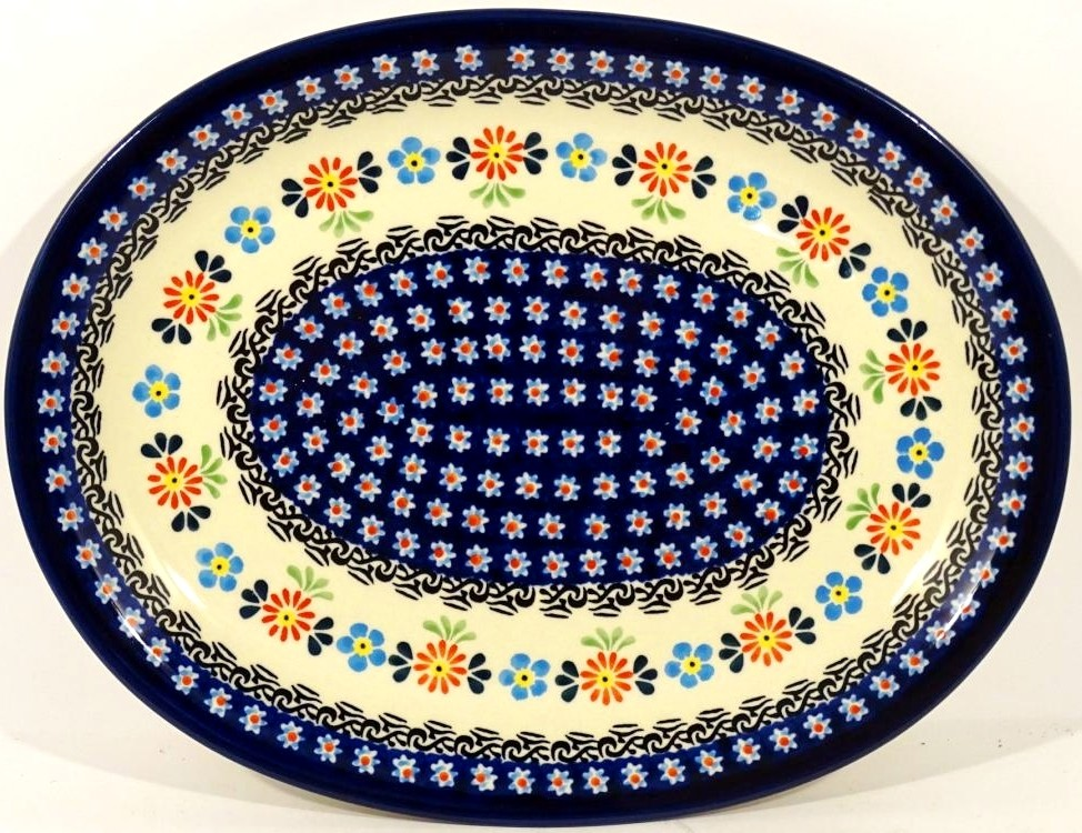 """Pottery Avenue Heritage 11.5"""" Oval Stoneware Platter - Plate - 1006/1144A Heritage"""