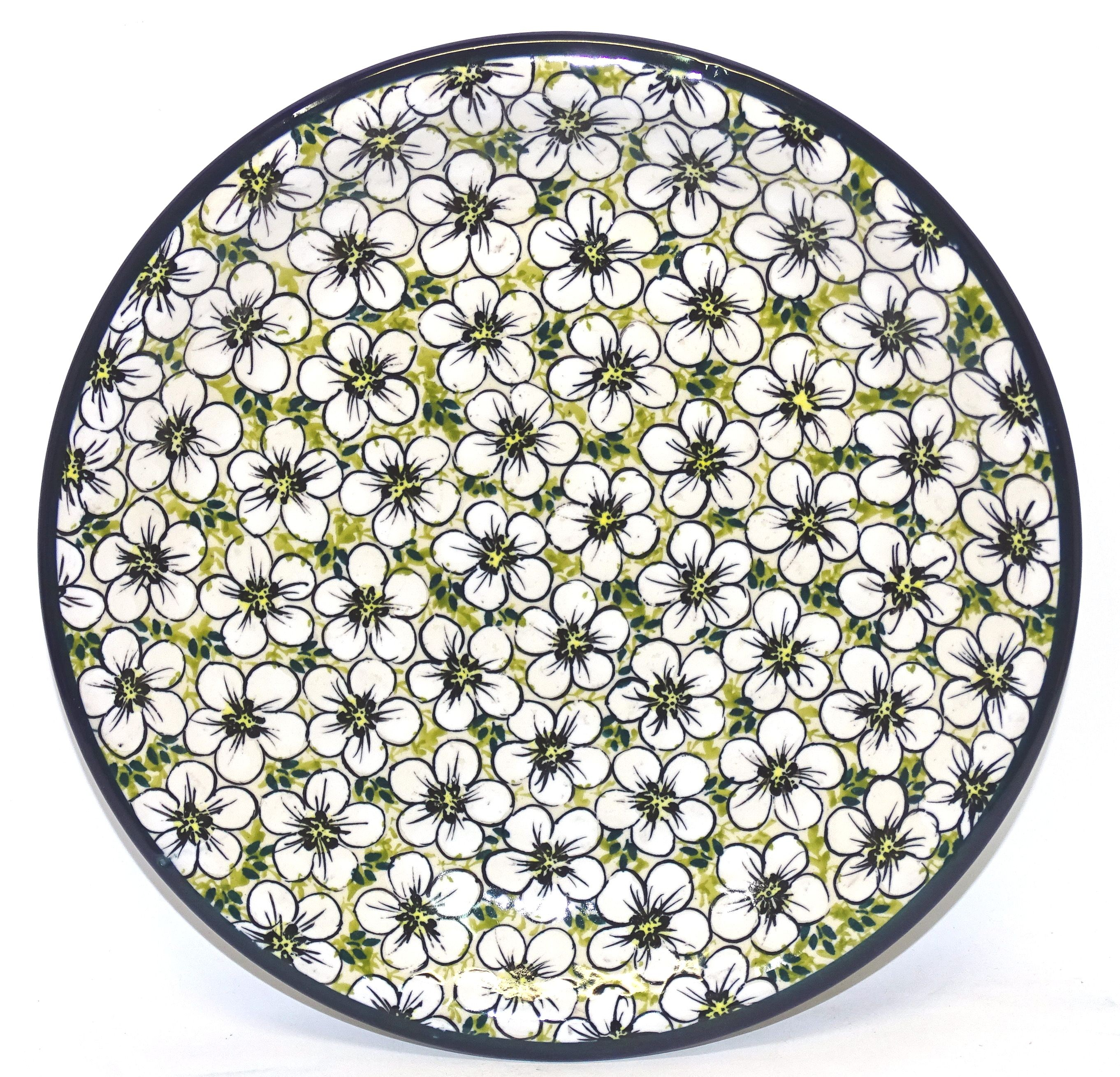 """Pottery Avenue 7.75"""" Stoneware Luncheon-Salad Plate - 814-328AR Bacopa"""