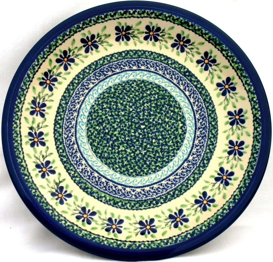 "Pottery Avenue 11"" Stoneware Dinner Plate -1014-DU121 Dearest Friend"