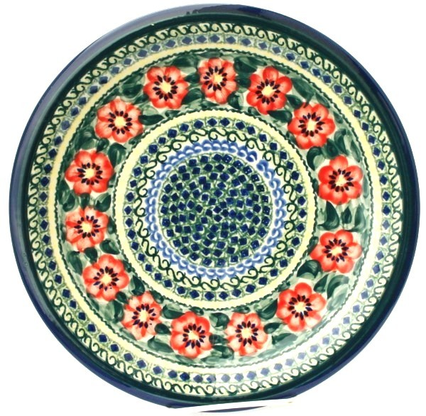 "Pottery Avenue 11"" Stoneware Dinner Plate -1014-134AR Passion"