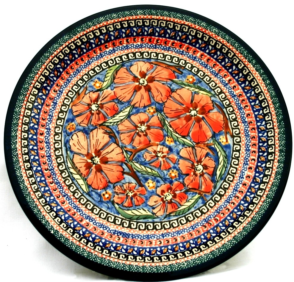 "Pottery Avenue 11"" Stoneware Dinner Plate -1014-150AR Cherished Friends"