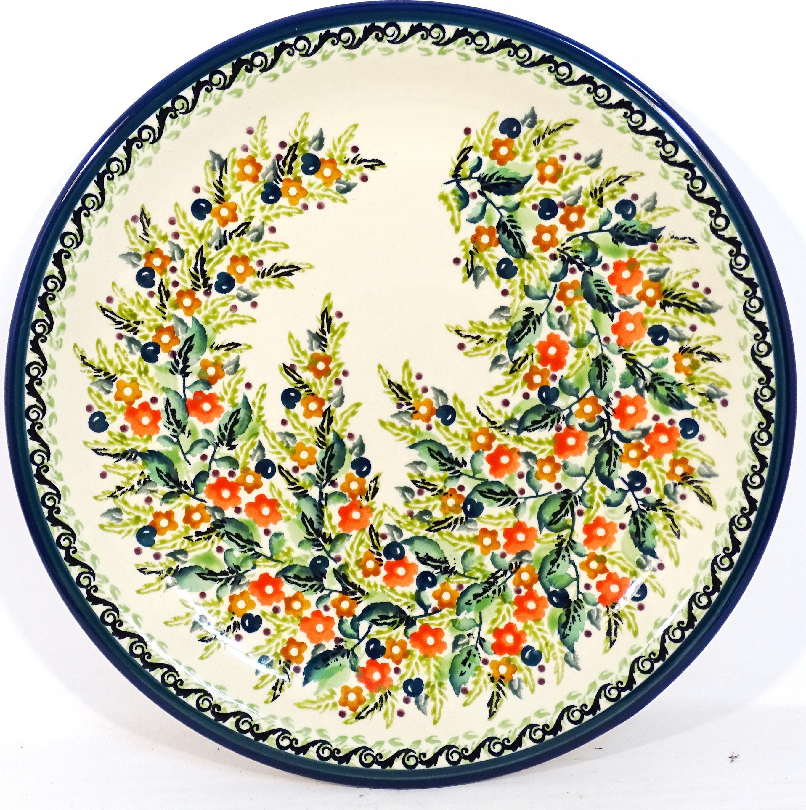 "Pottery Avenue 11"" Stoneware Dinner Plate -1014-333AR Seasons"