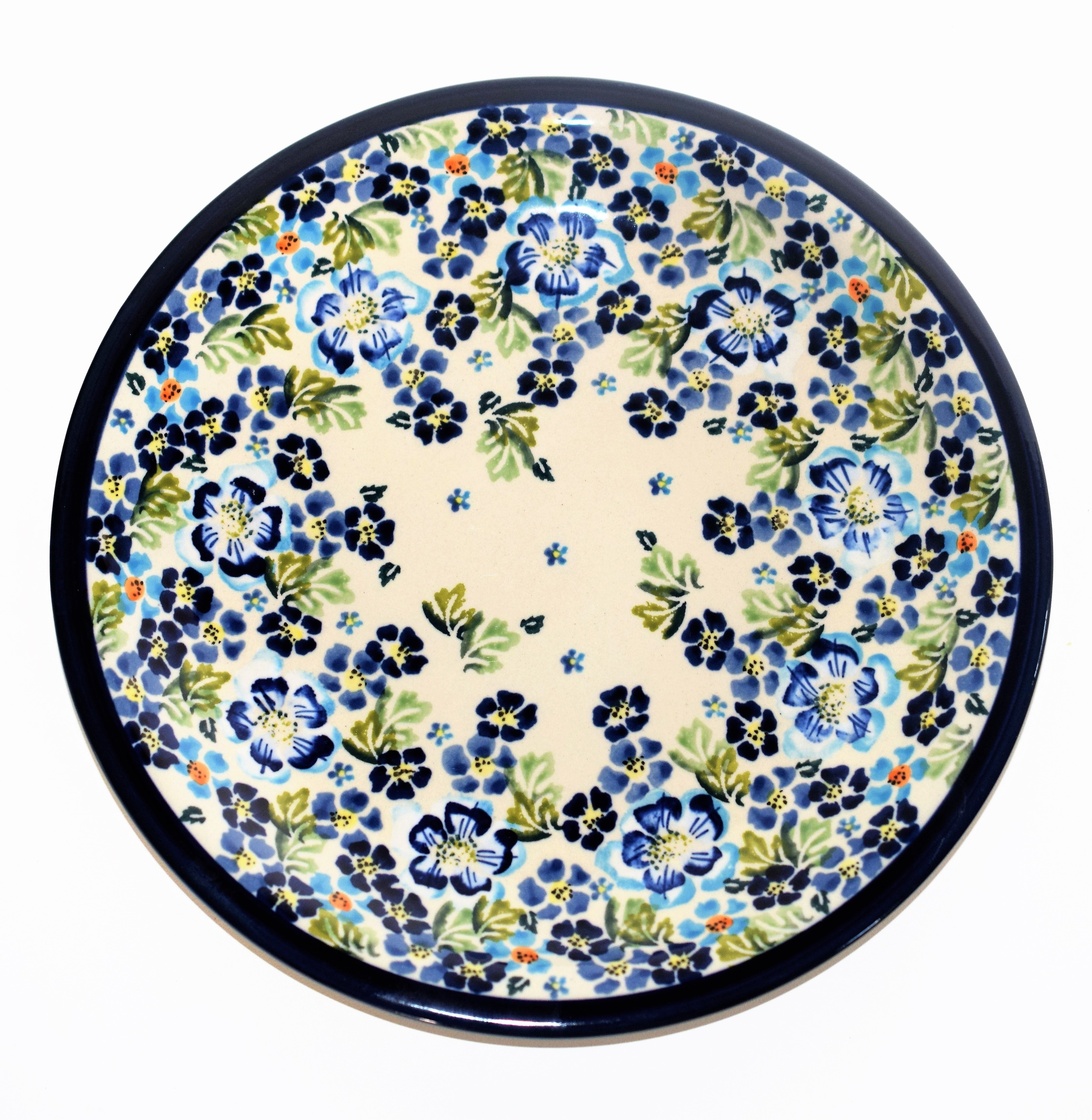 True Blues Dinner Plate from Pottery Avenue