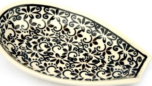 "Pottery Avenue 5"" Stoneware Spoon Rest - 1015-941 Elegant Times"