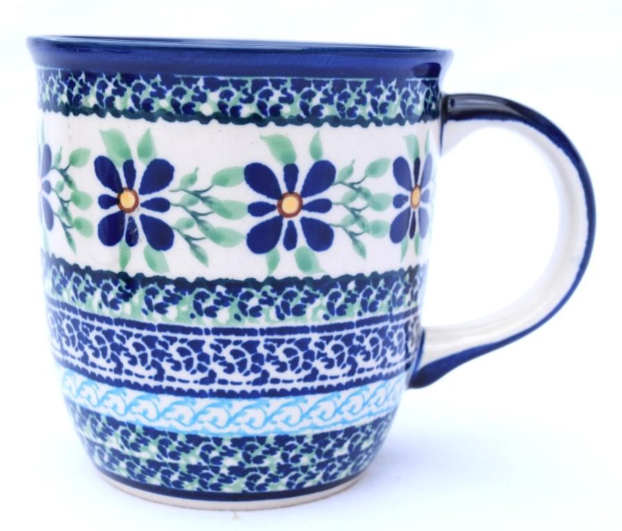 Polish Pottery DEAREST FRIEND 12-oz Stoneware Mug   ARTISAN