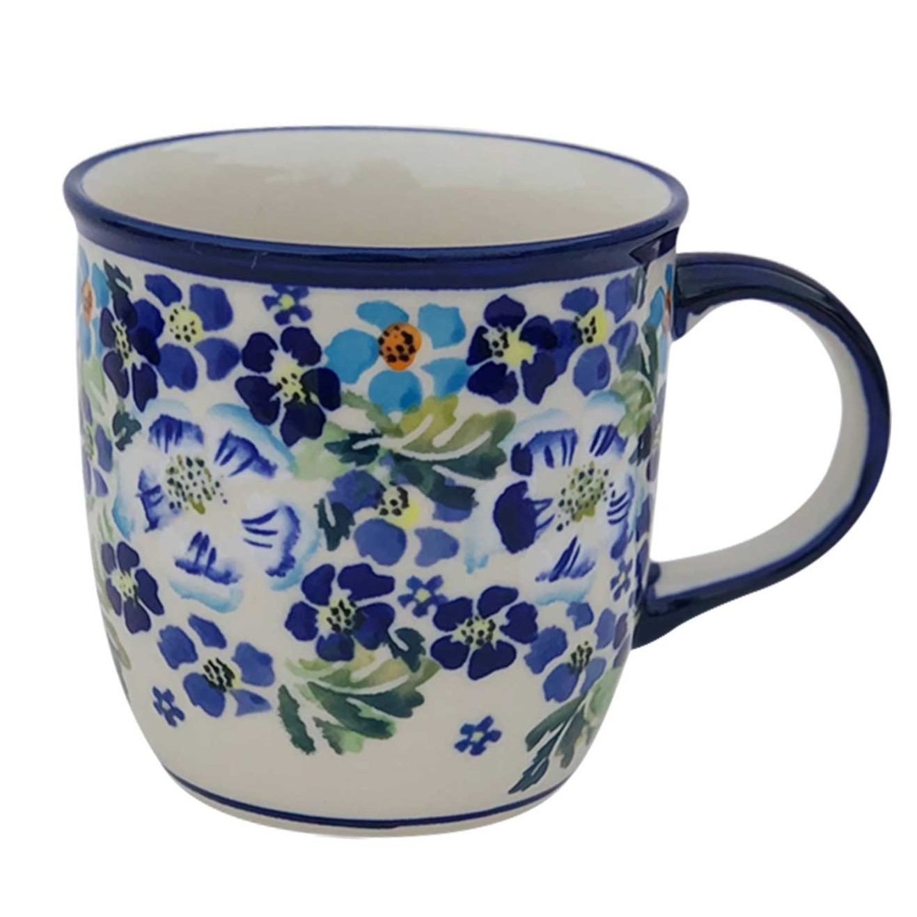 Pottery Avenue 12oz Stoneware Coffee Mug - 1105-DU207 True Blues