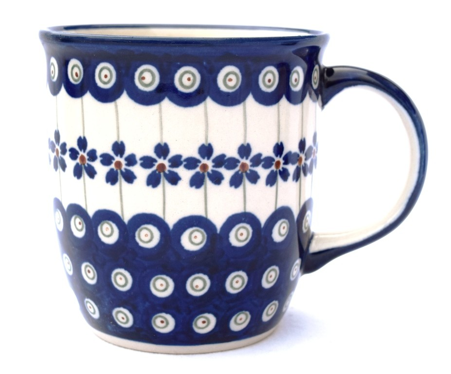 Pottery Avenue Flowering Peacock 12oz Stoneware Mug - 1105-166A