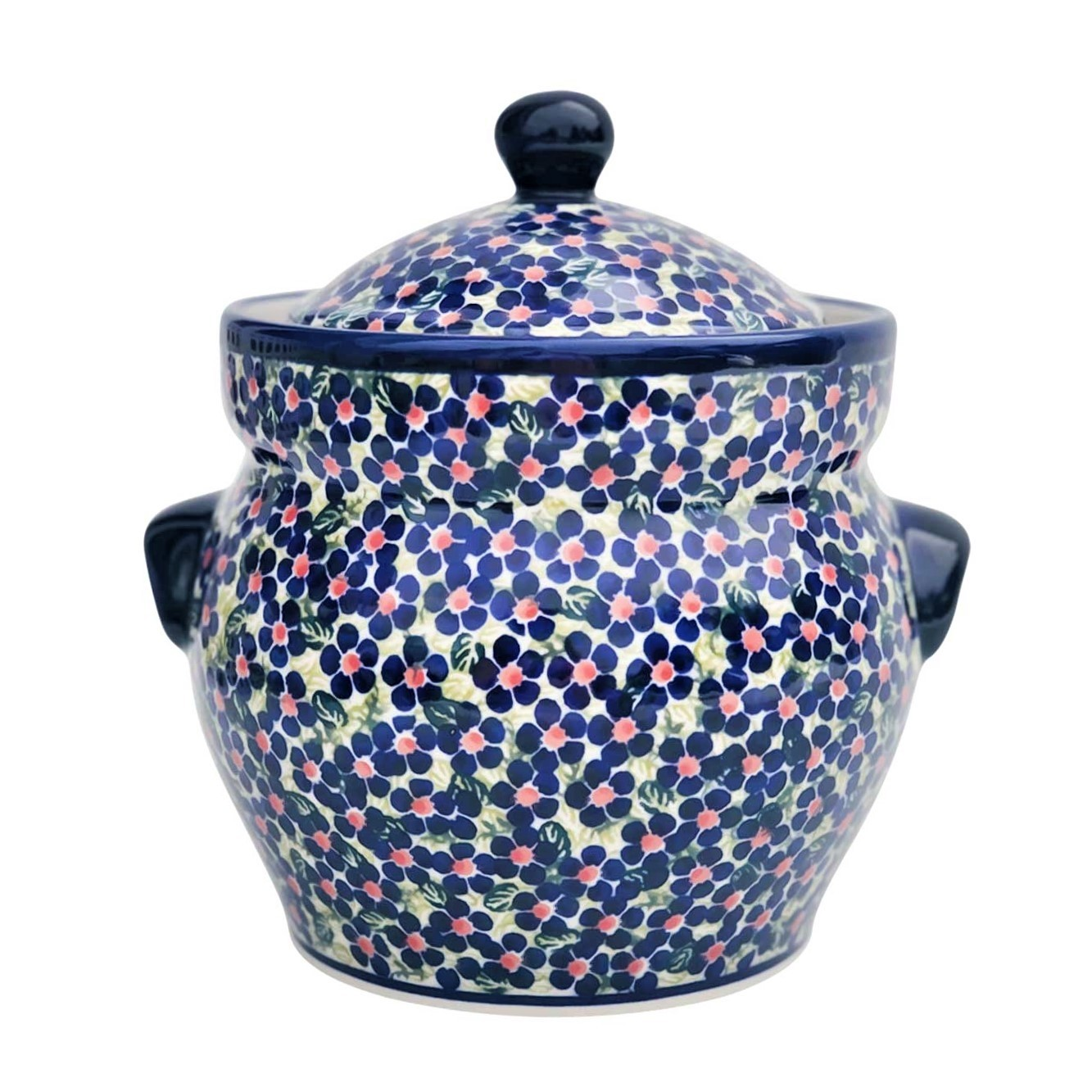 Pottery Avenue 7.6-cup Stoneware Canister - 1125/DU206 Friendship
