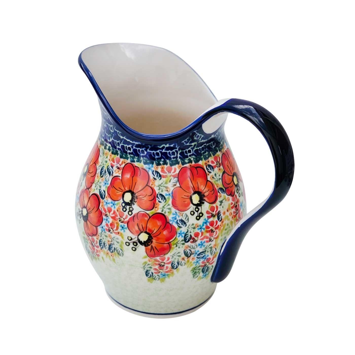Pottery Avenue 2-Quart Stoneware Pitcher -1160-296AR