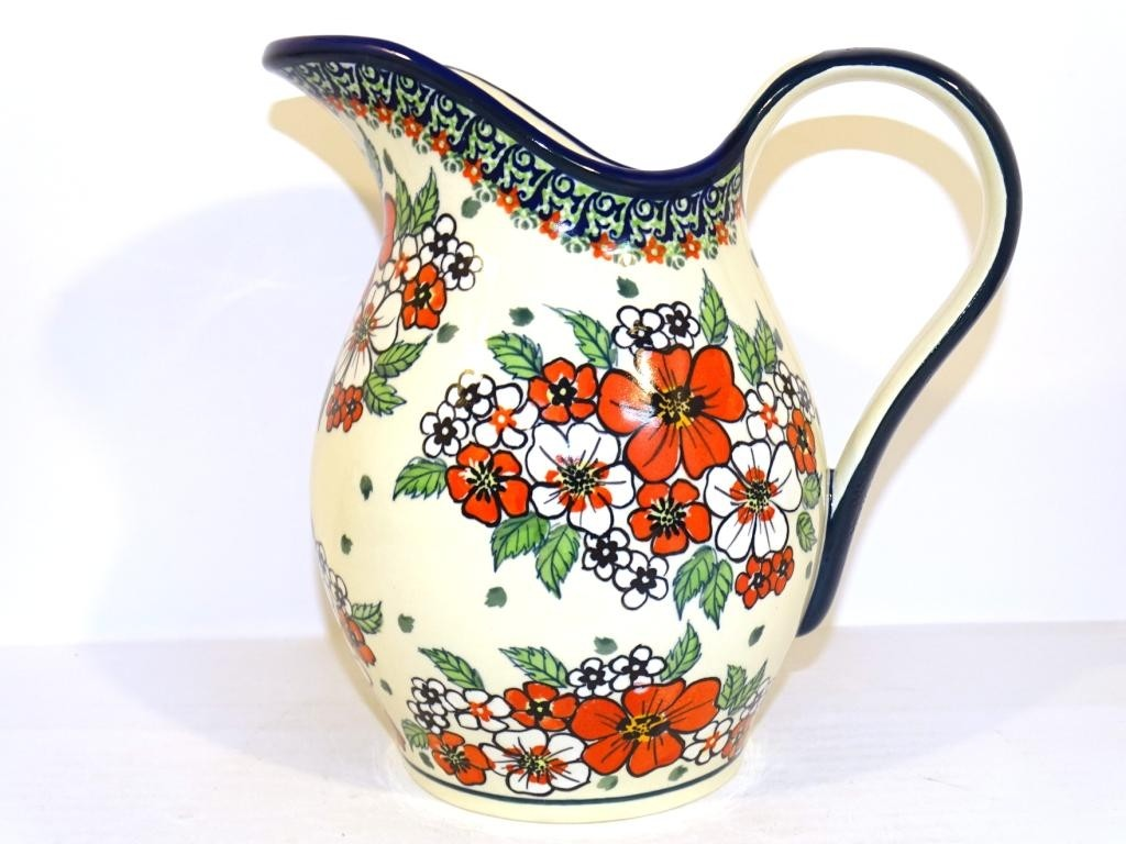 Pottery Avenue 2-Quart Stoneware Pitcher - 1160-326AR Empress