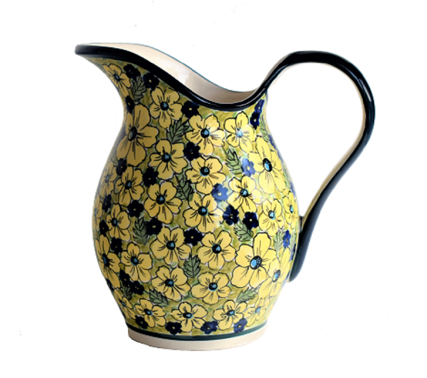 Pottery Avenue 2-Quart Stoneware Pitcher - 1160-346AR Blue Citrine