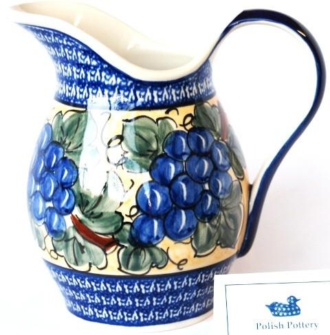 Pottery Avenue 2qrt Stoneware Pitcher - 1160-DU8 Grapes