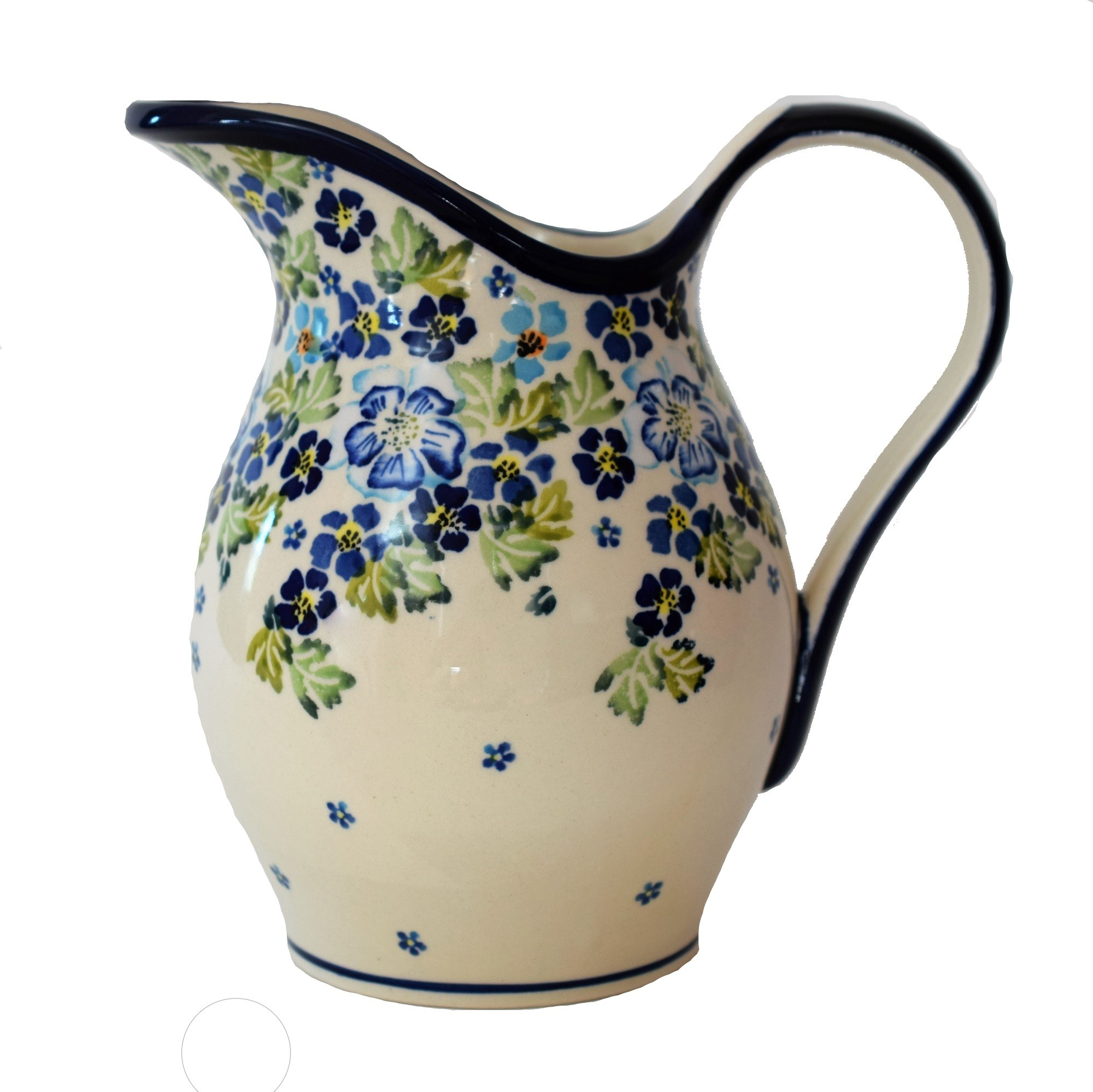 Pottery Avenue 2qrt Stoneware Pitcher - DU207 True Blues