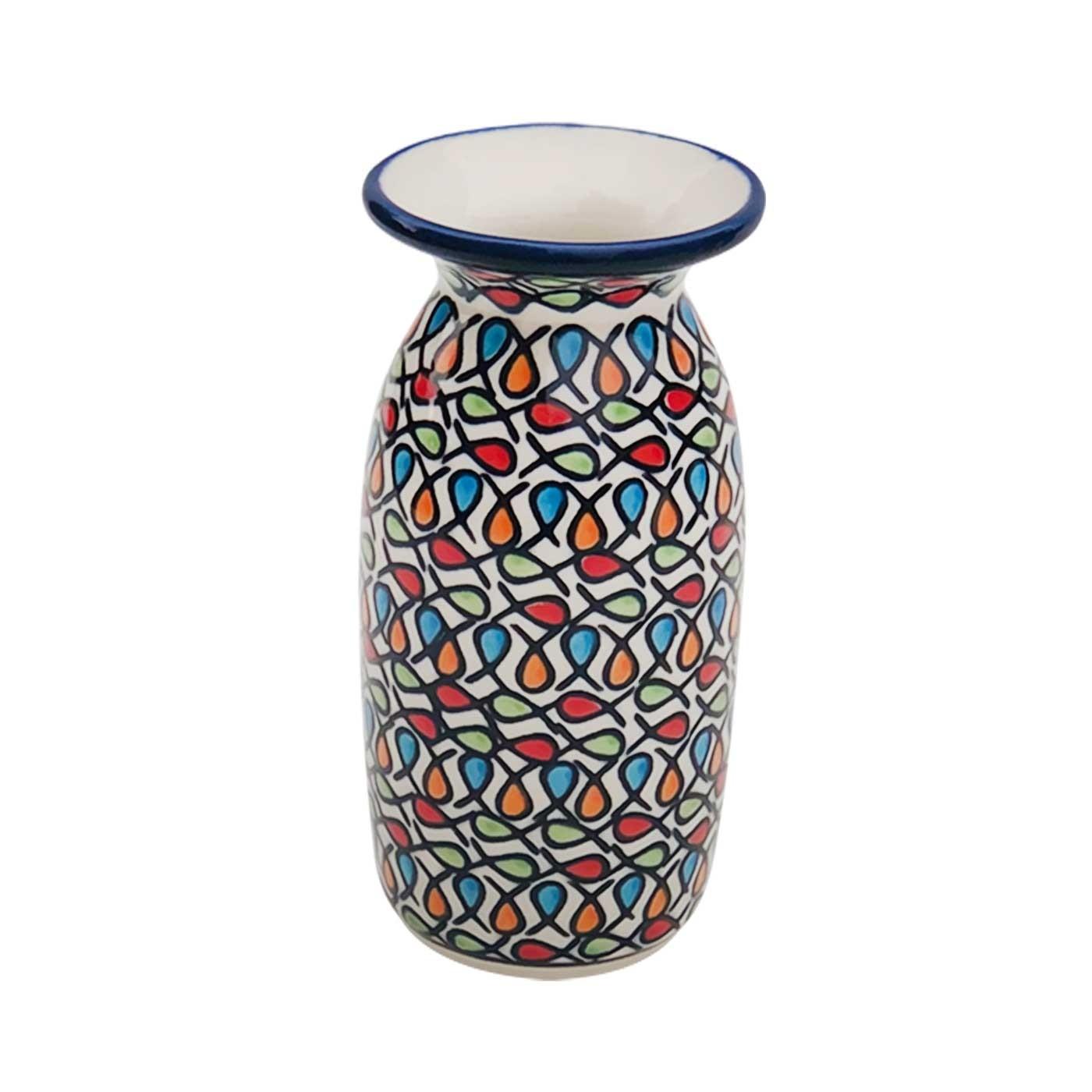Pottery Avenue Stoneware Bud Vase - 1204-DU221 COLOR ME LOVE