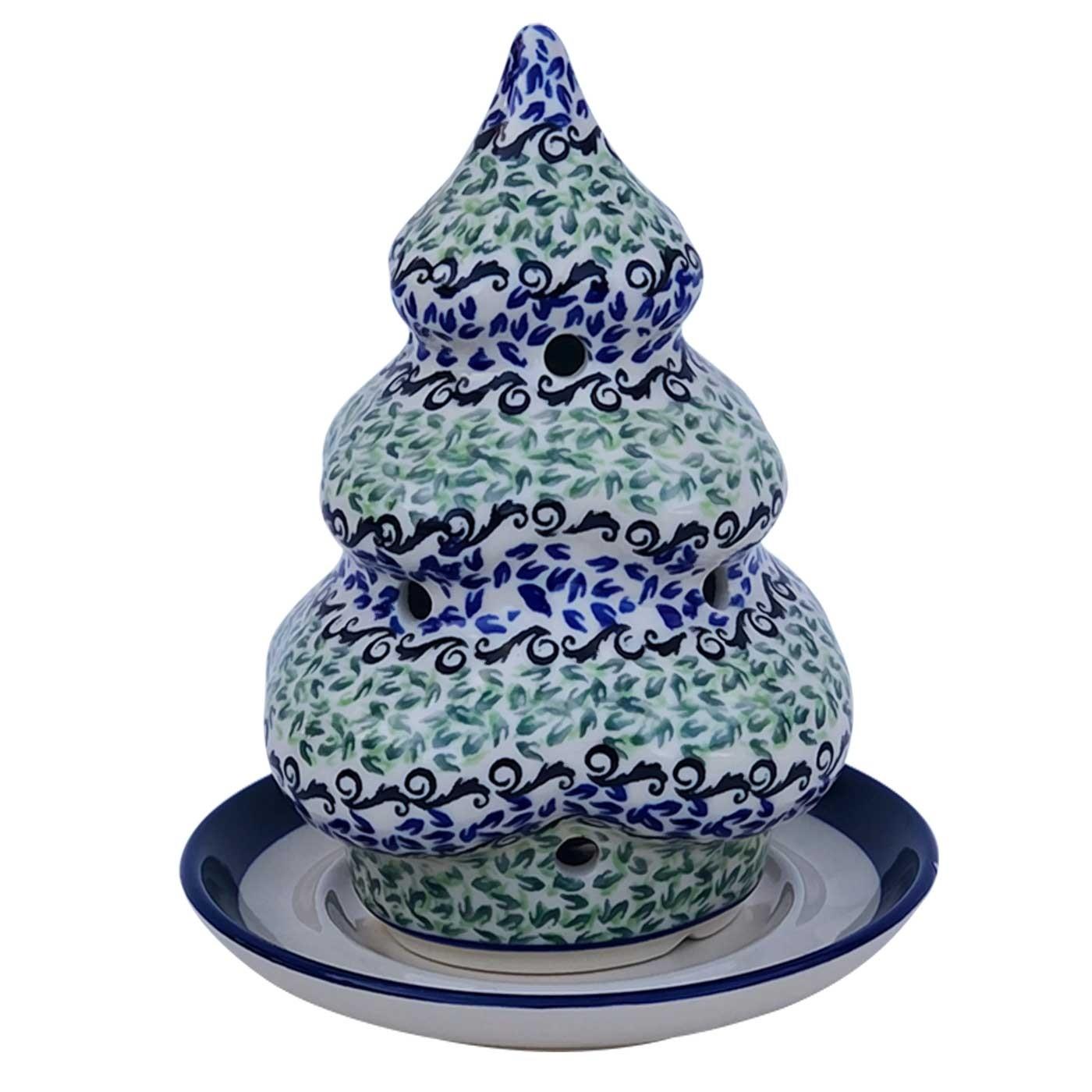 Pottery Avenue Designer 2-pc Candle Stoneware Holder - 1289-1182A