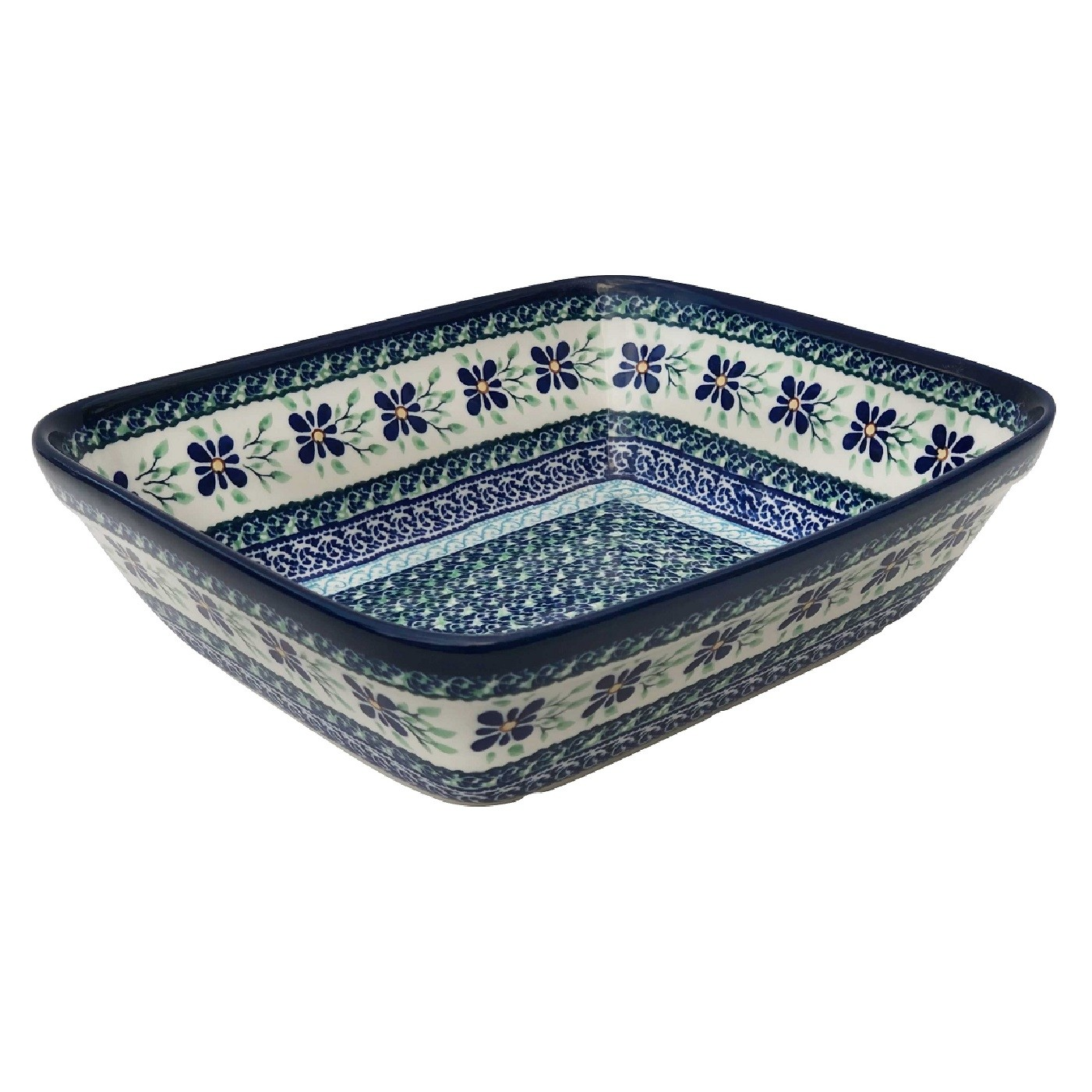 "Pottery Avenue Dearest Friend 10"" Rectangular Stoneware Bakeware Dish"