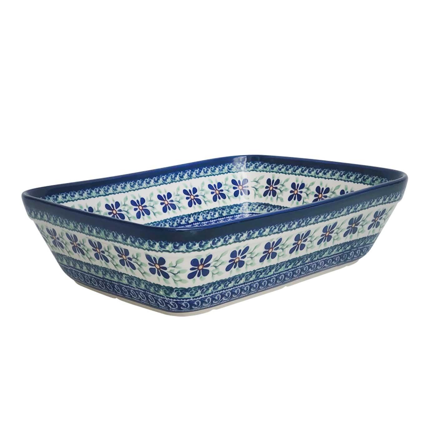 "Pottery Avenue 12"" Rectangle Stoneware Baker - 1351-DU121 Dearest Friend"