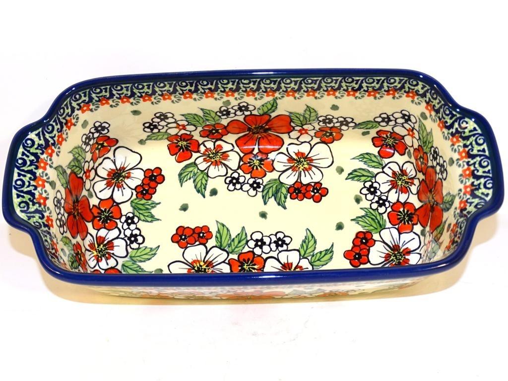 Polish Pottery EMPRESS 5-Cup Stoneware Loaf Pan | UNIKAT