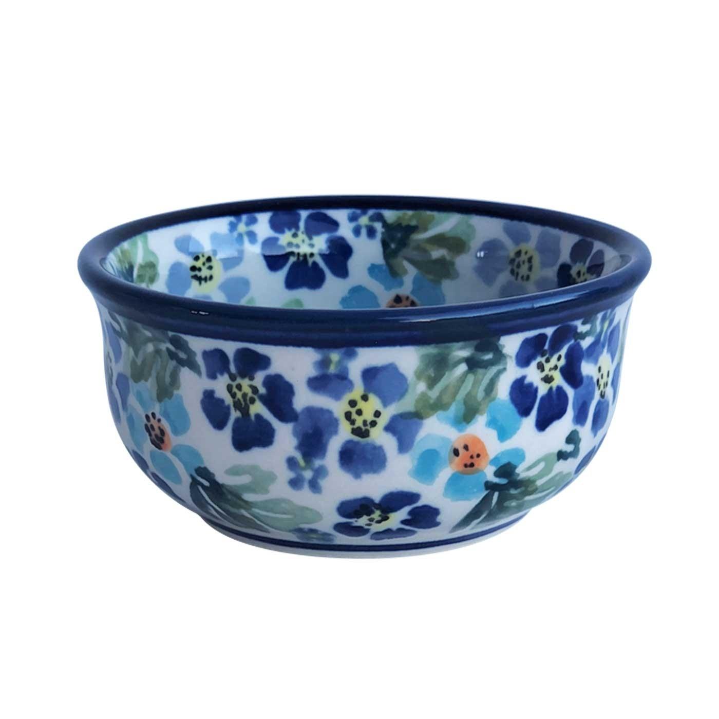 Pottery Avenue True Blues Small Stoneware Bowl