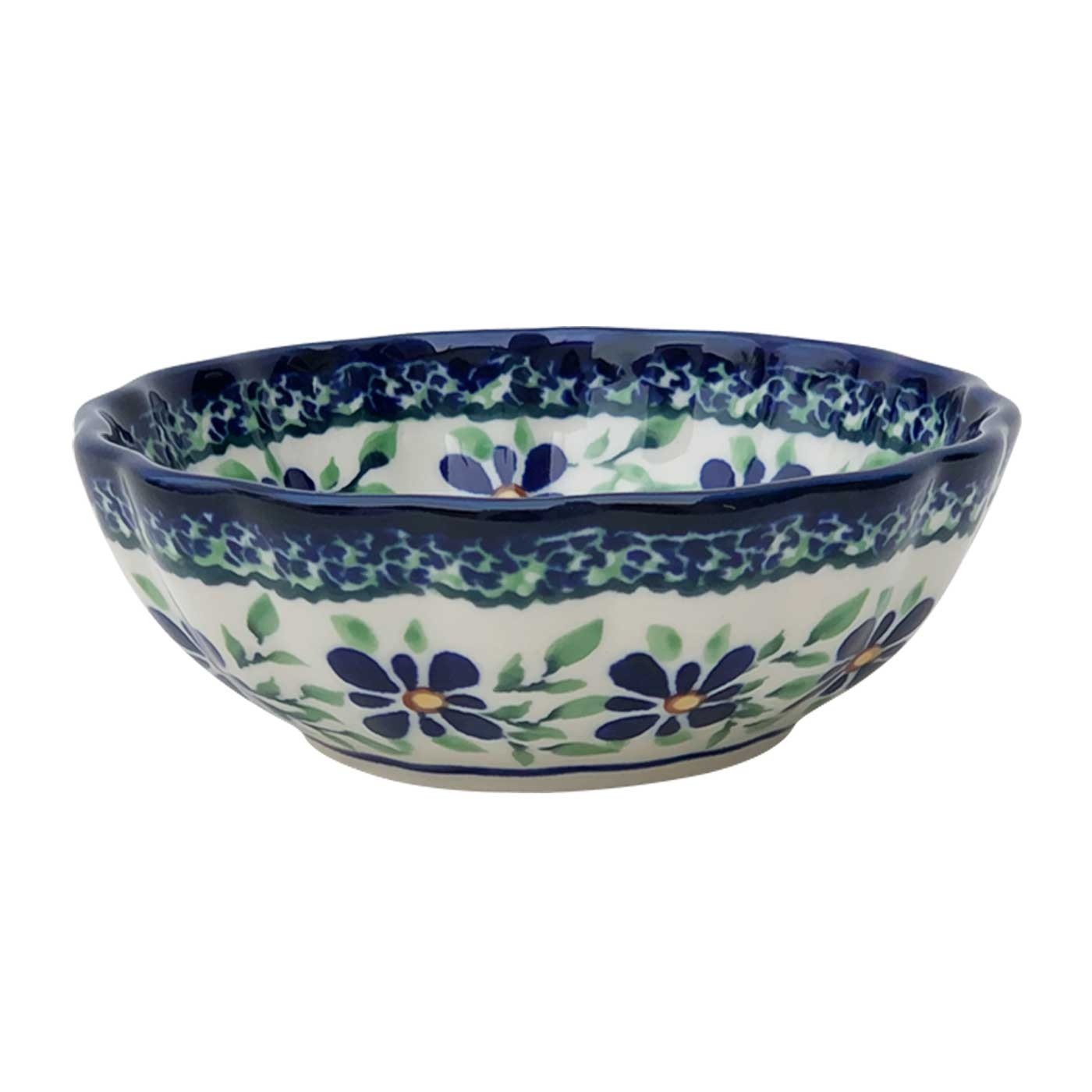 Pottery Avenue Small Scalloped Bowl - 1518-DU121 Dearest Friend