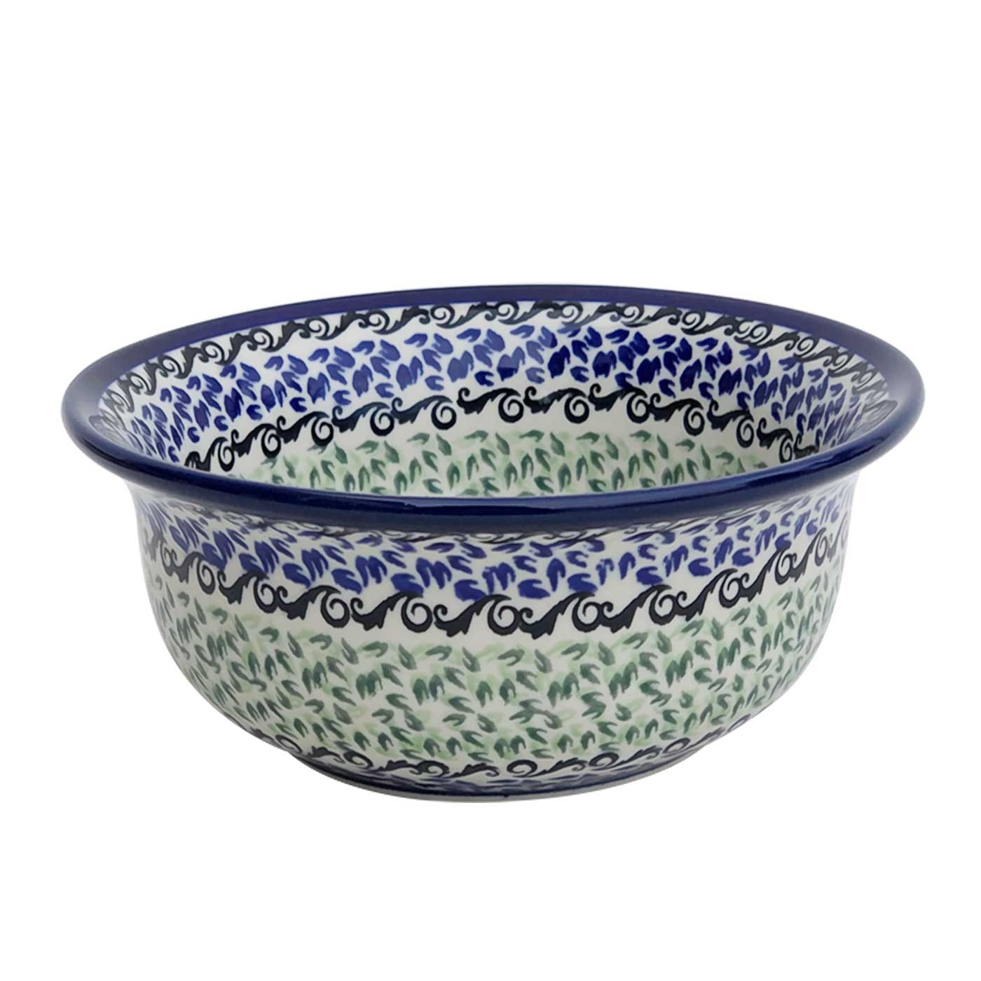 Pottery Avenue Artisan Flared Top Stoneware Bowl - 1604-1182A Celebrate