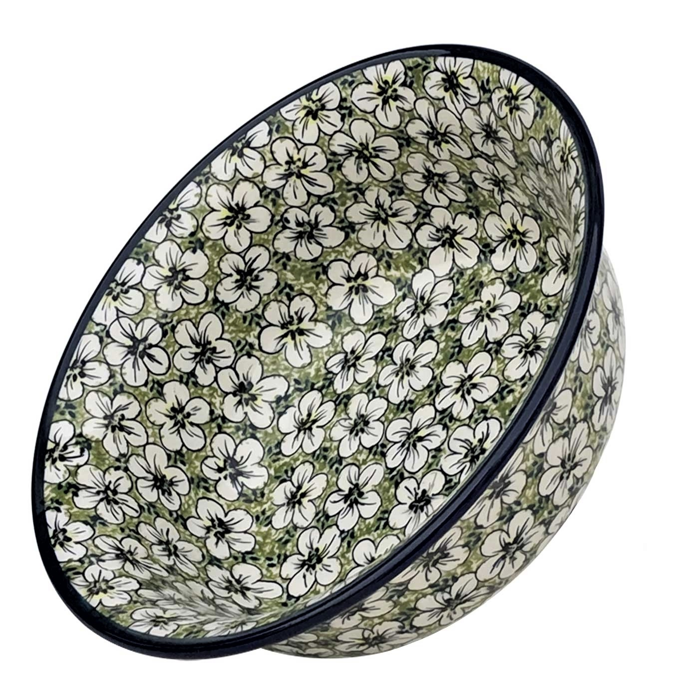 Pottery Avenue 10-inch Flared Top All Purpose Baking-Serving Bowll -1605-328AR Bacopa