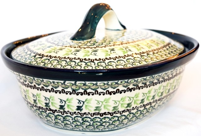 Pottery Avenue 1.5L IVY Covered Casserole Dish | CLASSIC