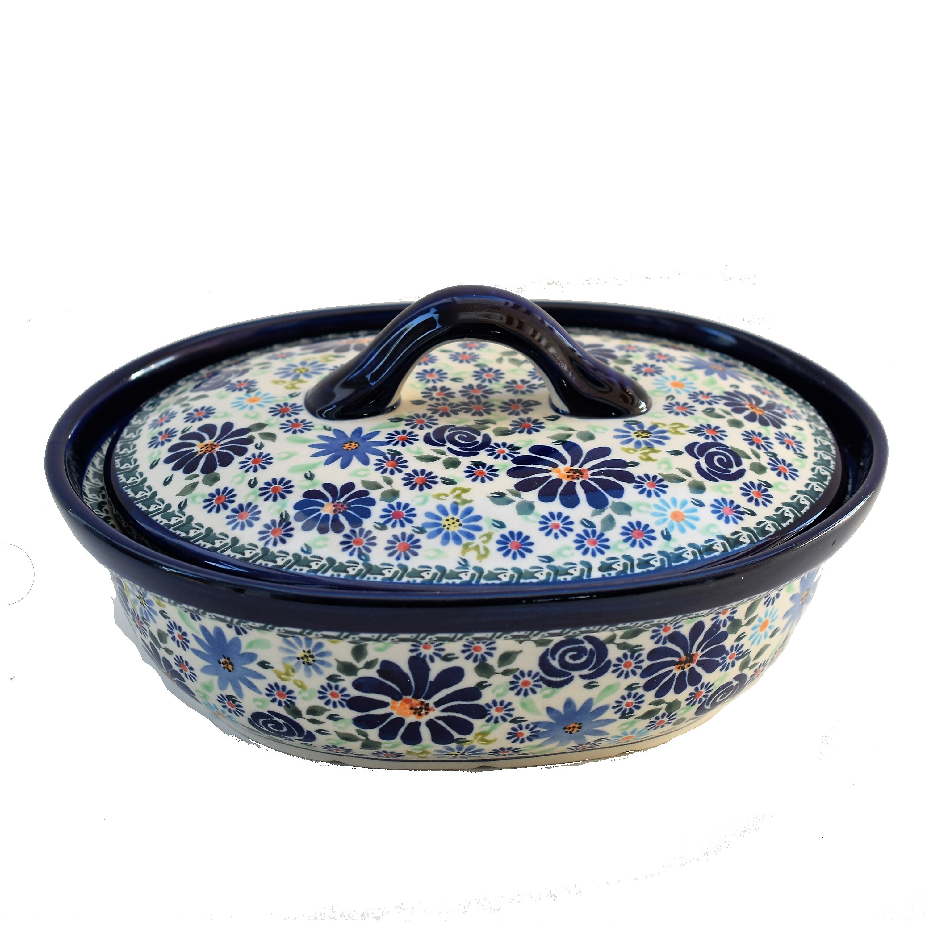 Pottery Avenue 1.5L Covered Casserole in 4TH OF JULY