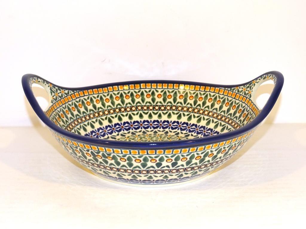 "Pottery Avenue |10"" Handled Bowl | ARTISAN"