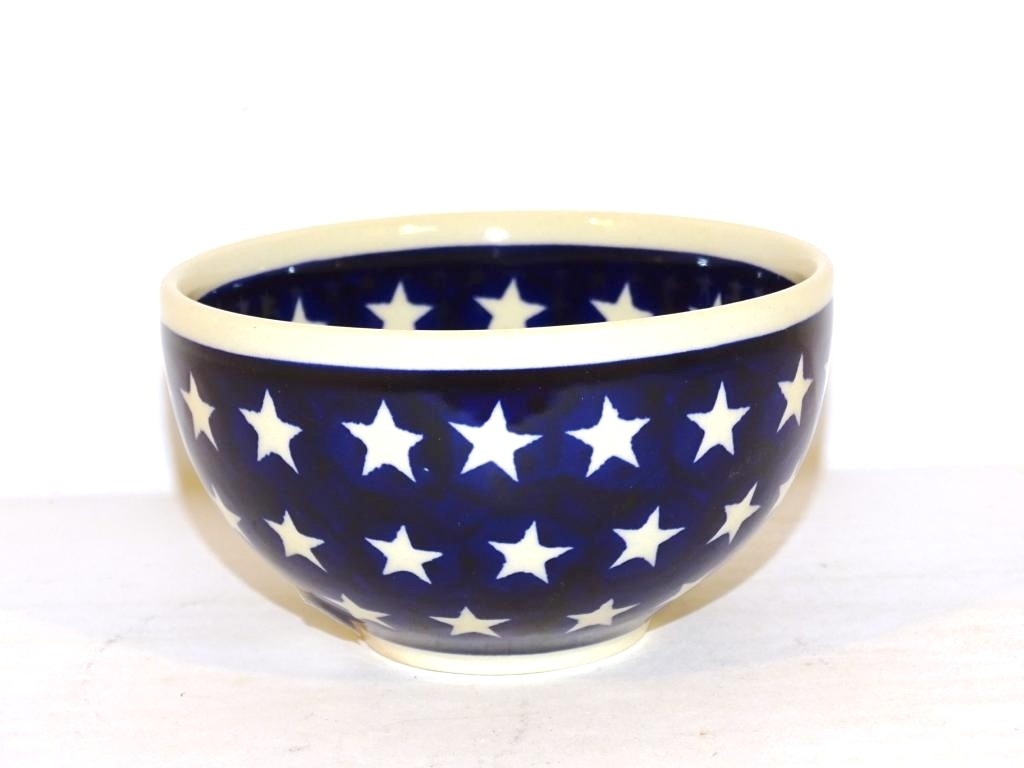 "Pottery Avenue 4.5"" STARS Small Stoneware Cereal Bowls 