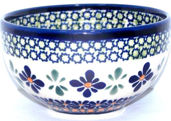 "Polish Pottery SWEETIE PIE 4.5"" Rice Stoneware Bowl | ARTISAN"