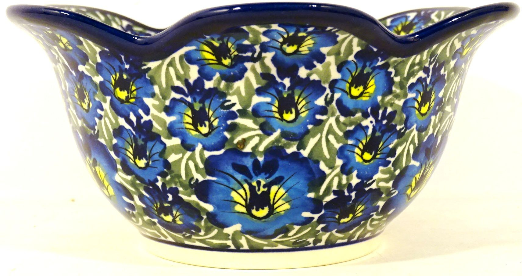 "Pottery Avenue 6.5"" Tulip Petal Bowl   UNIKAT"