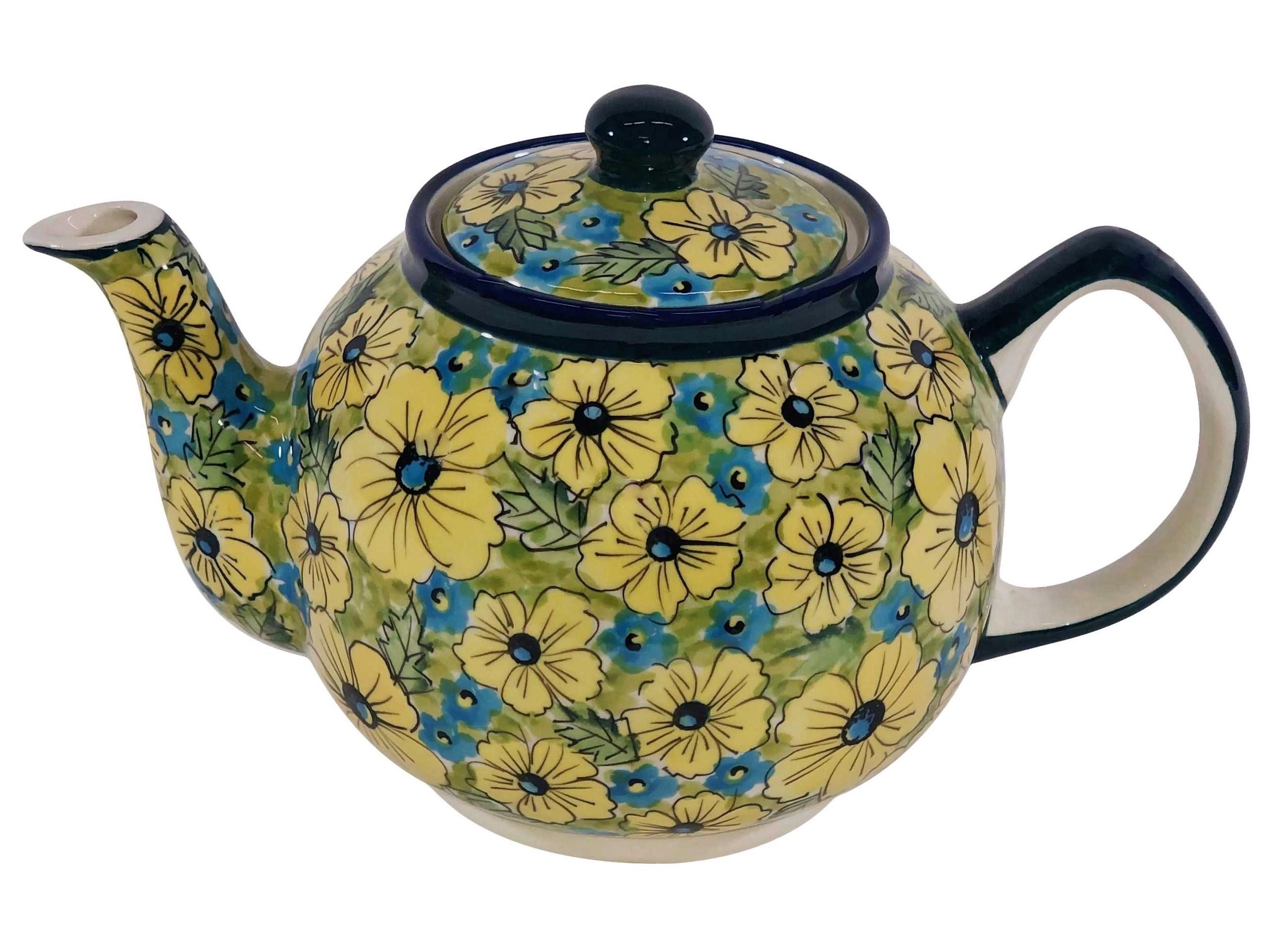 Pottery Avenue Citrine Stoneware Teapot