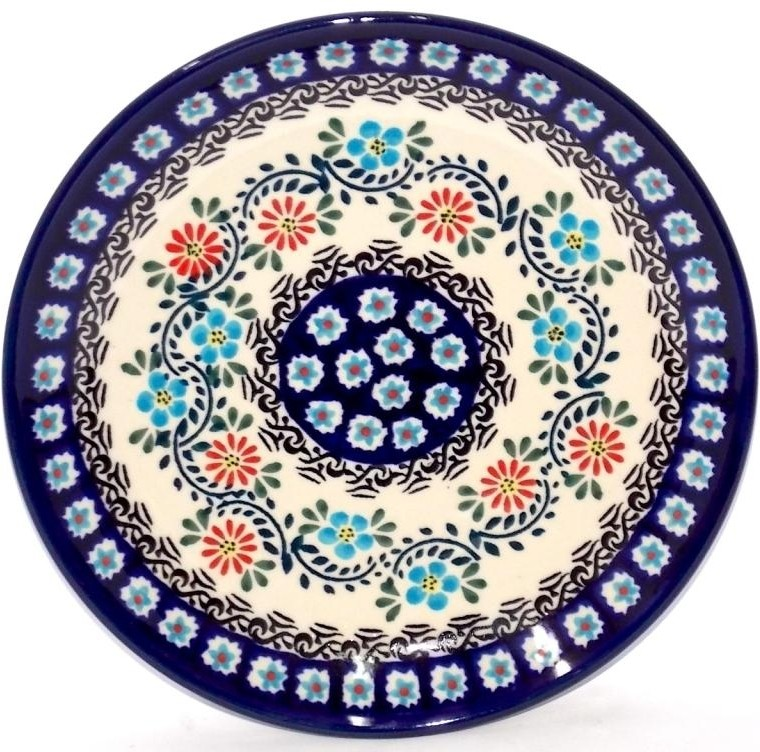 "Pottery Avenue 7.75"" Stoneware Salad-Luncheon Plate - 814-1145A Heritage Home"