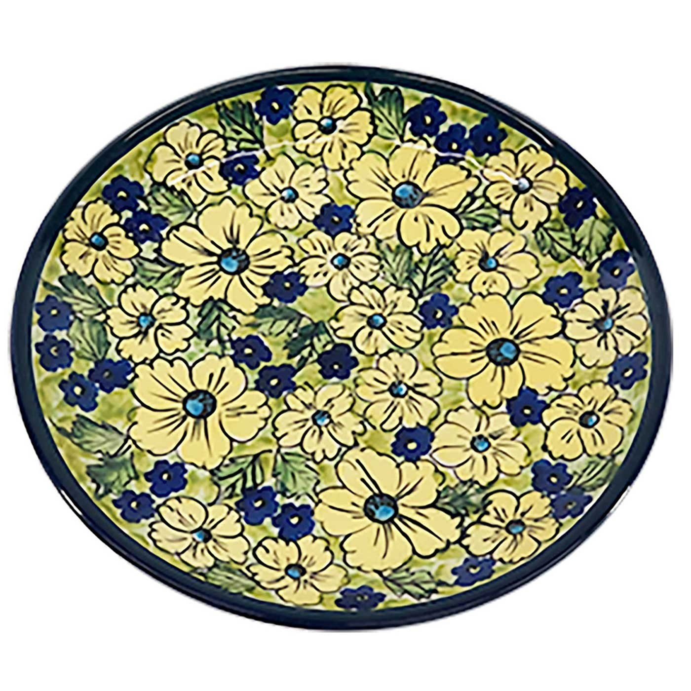 Pottery Avenue Blue Citrine Lunch-Salad Plate