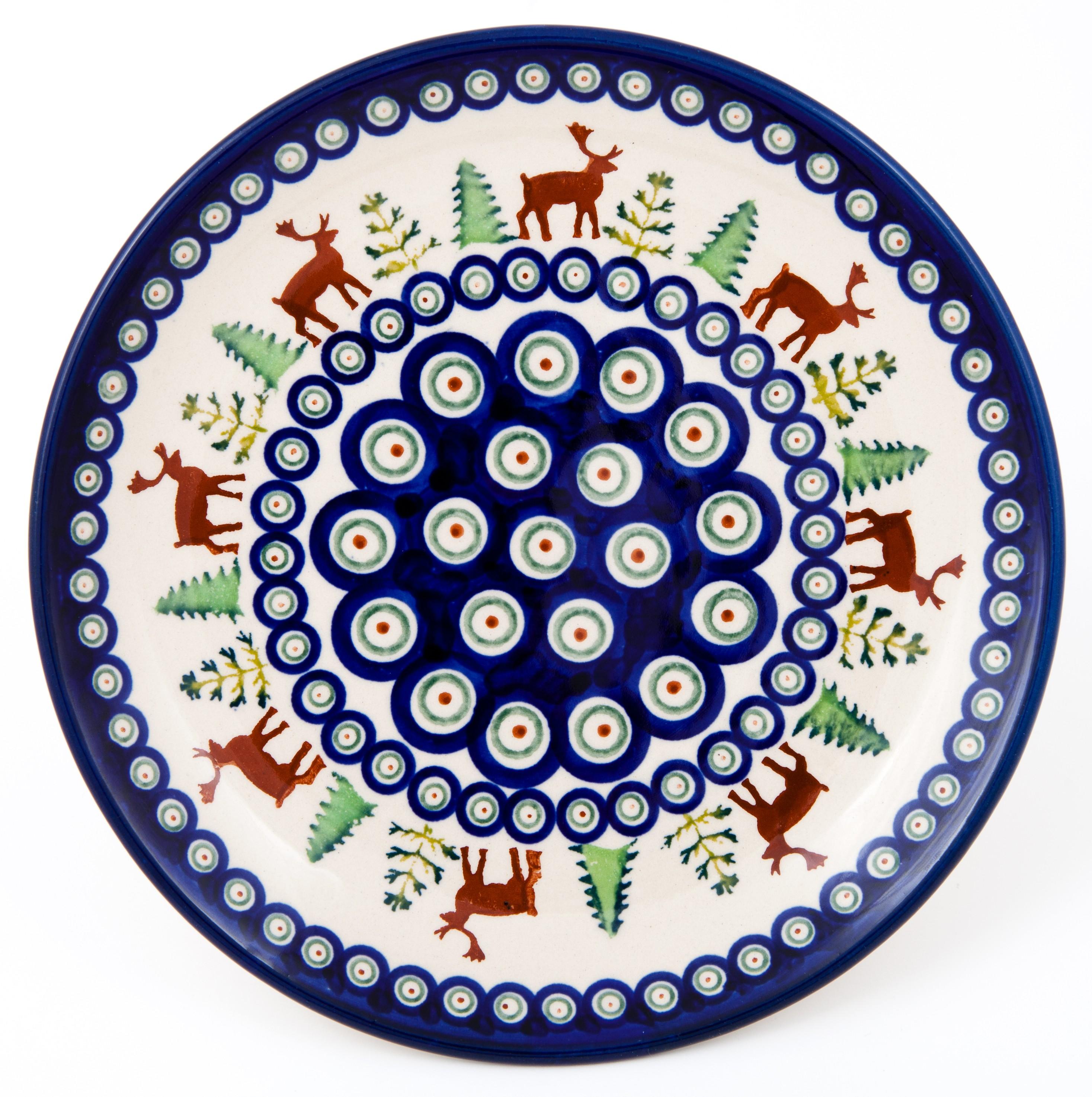 """10.75""""Dinner Plate 1.18"""" Tall 992A"""