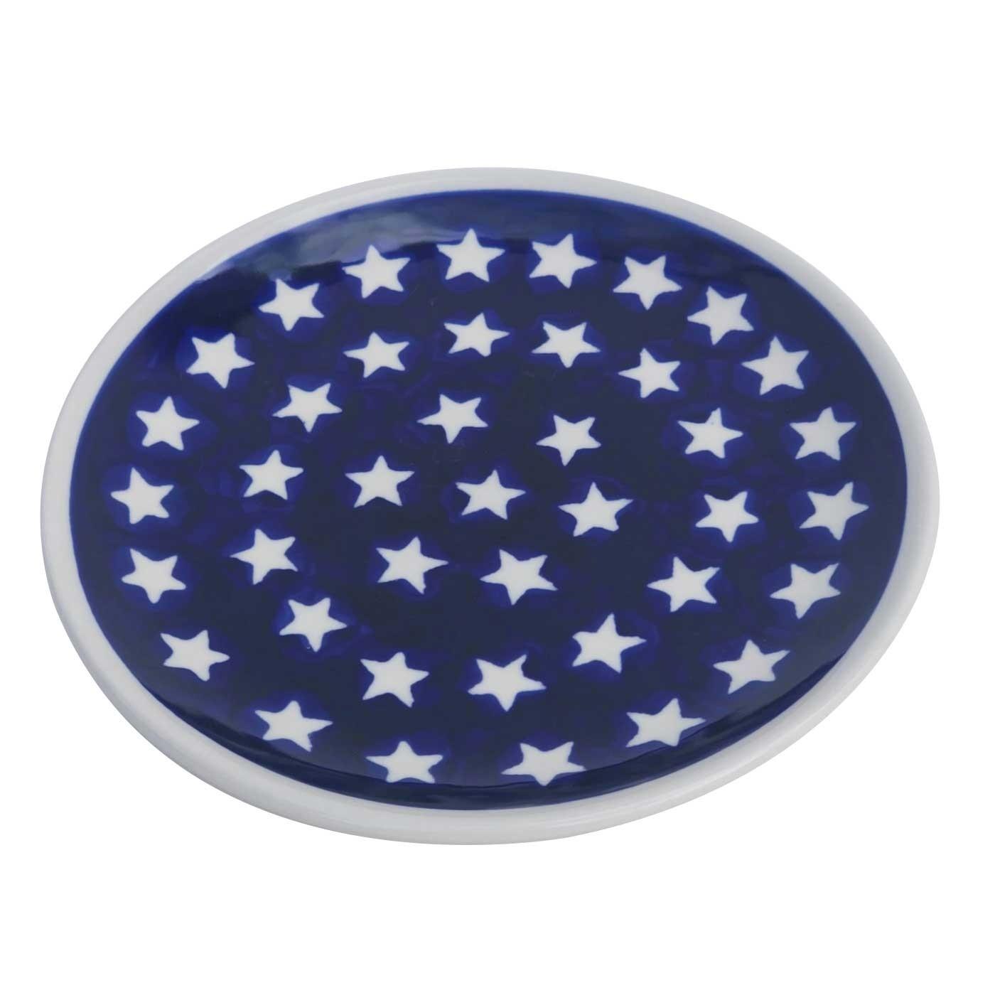 Pottery Avenue 6.5-inch Bread & Butter - Dessert Stoneware Plate - 818-82 Stars