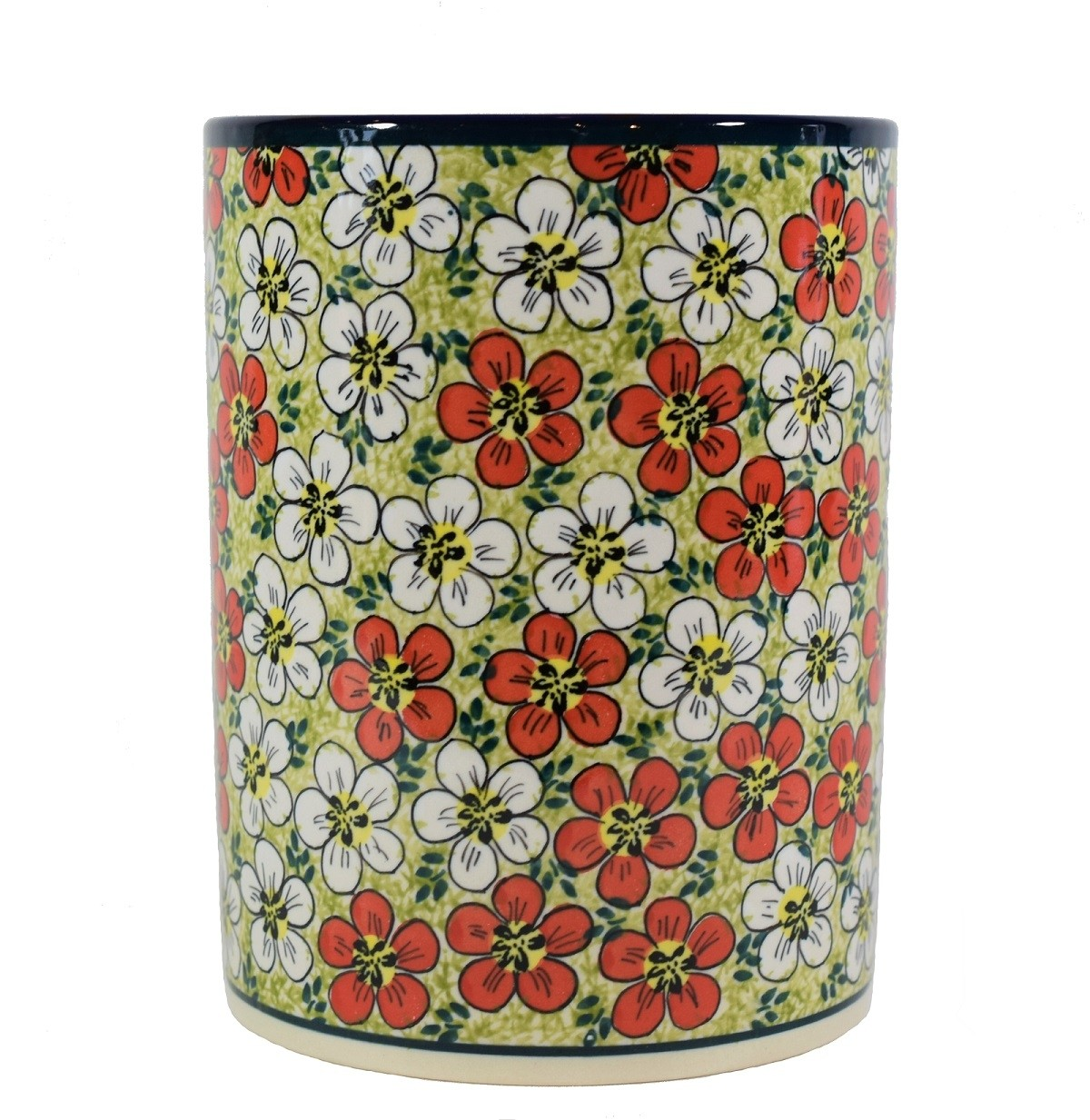 Red Bacopa utensil jar