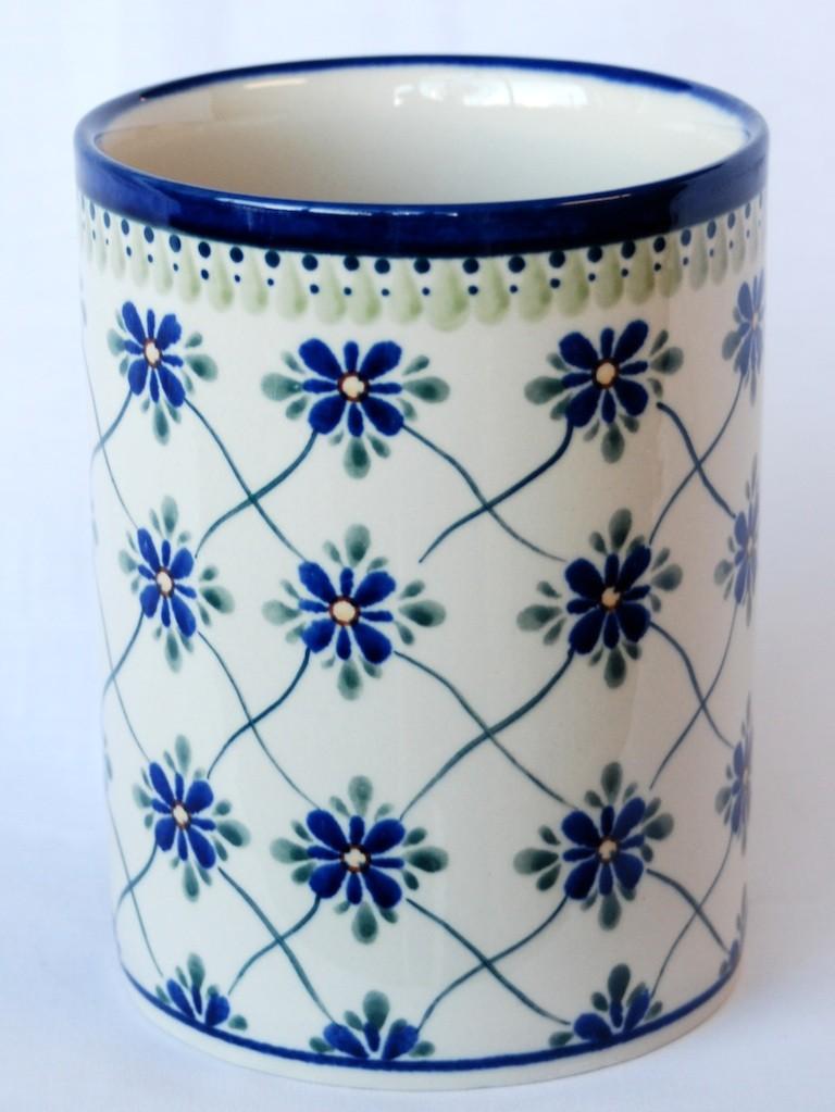 """Pottery Avenue 7"""" Stoneware Utensil Jar-Bottle Chiller - 832-DU48 Sweetheart"""