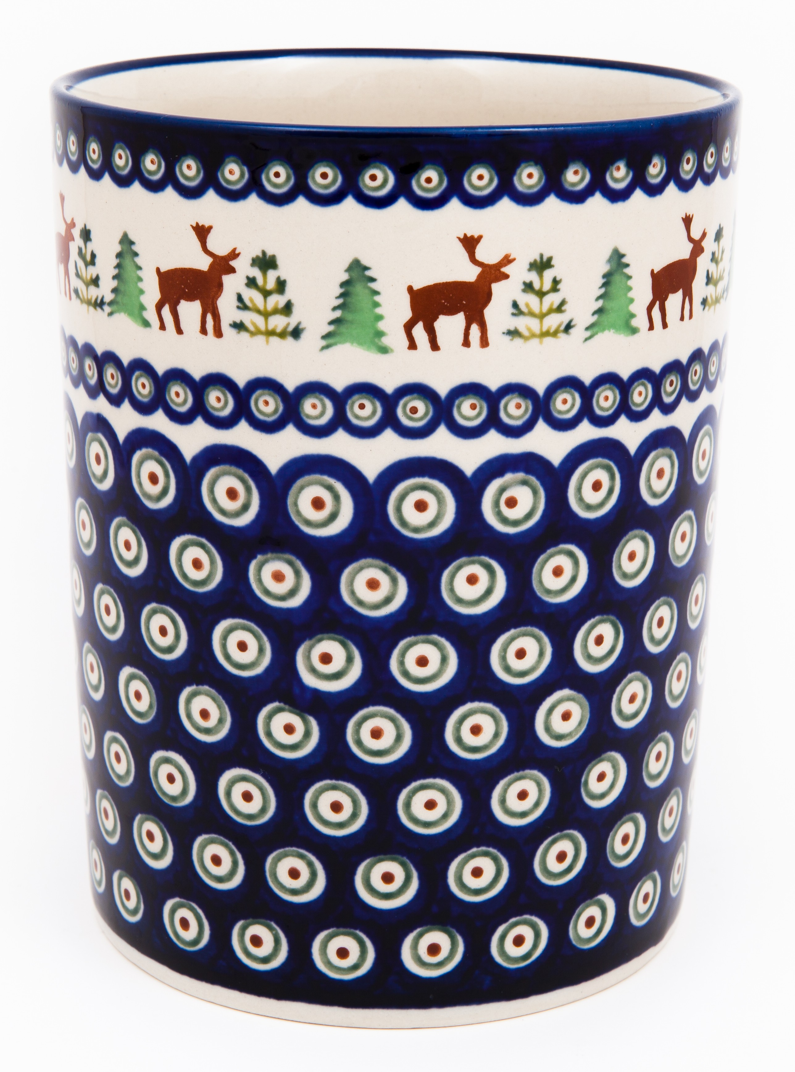 "Pottery Avenue 7"" Utensil Jar-Bottle Chiller - 832-992A Caribou Lodge"