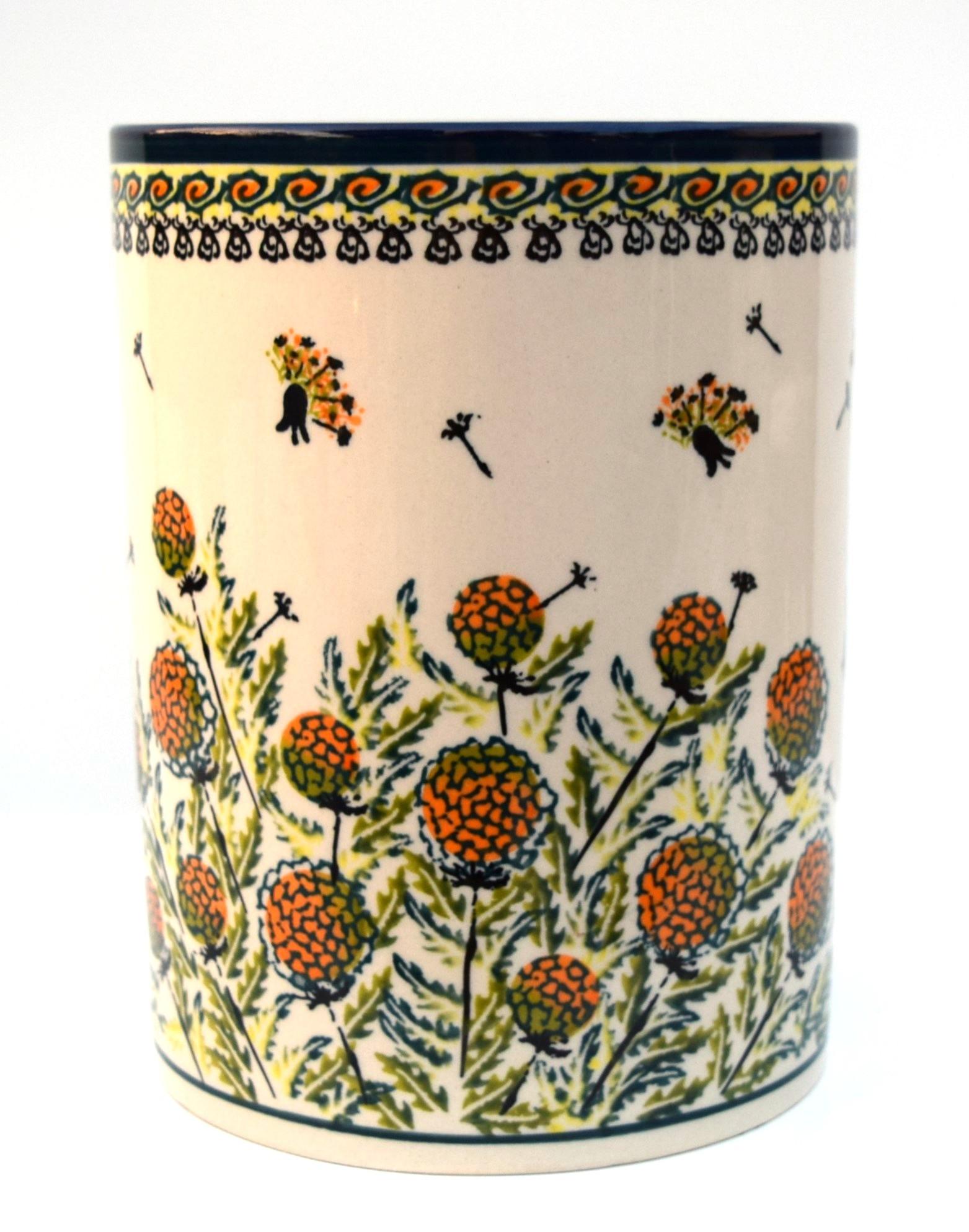 "Pottery Avenue 7"" Utensil Jar | ARTISAN"