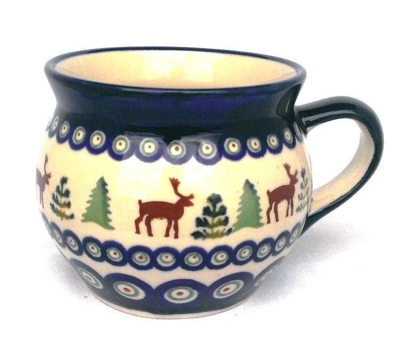 Pottery Avenue Caribou Lodge 10oz Bubble Mug