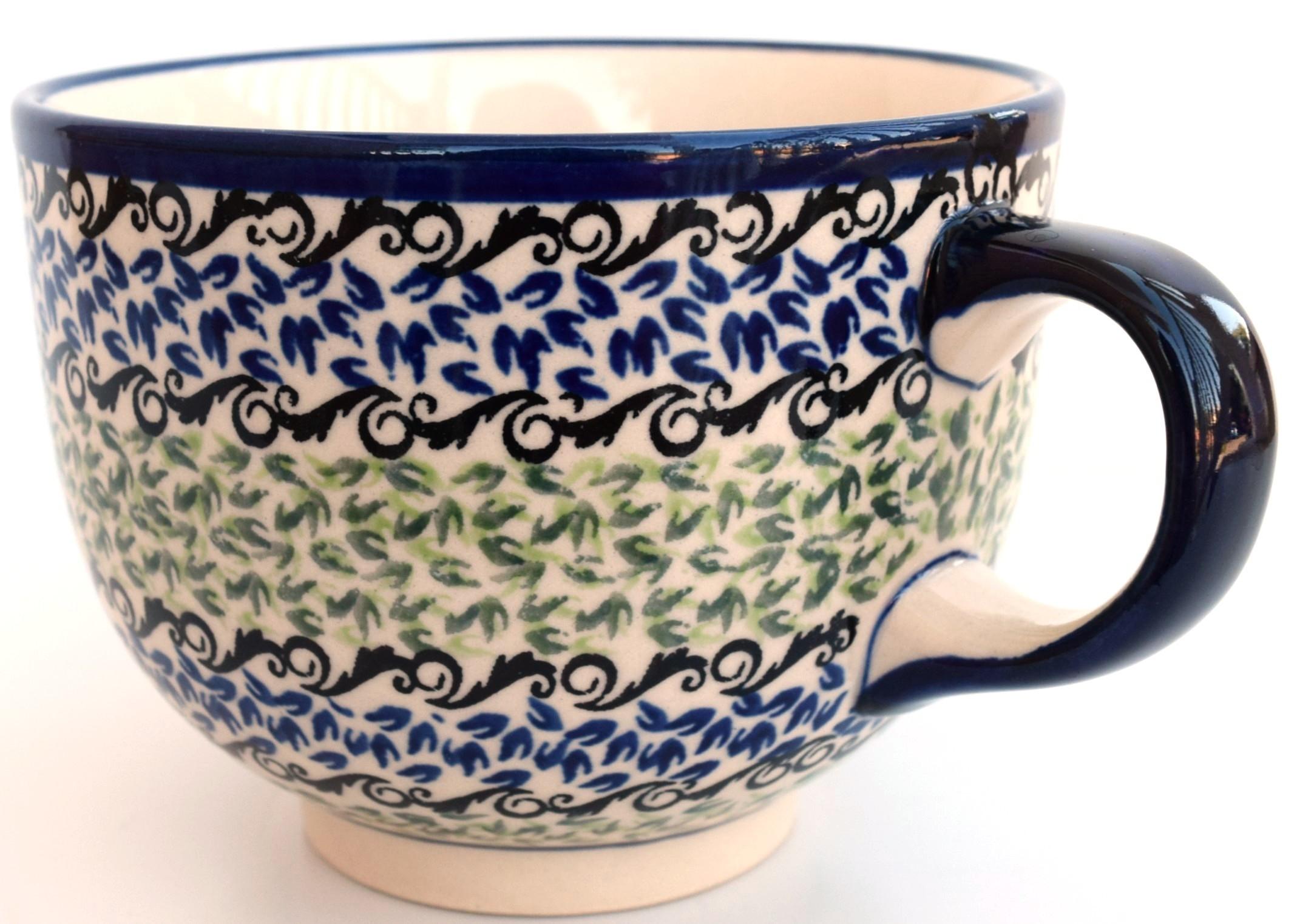 Pottery AvenuePottery Avenue Celebrate 17oz Cappuccino-Soup Stoneware Cup