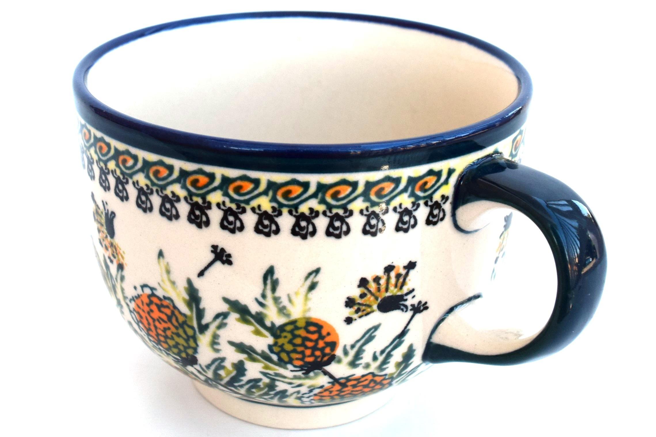 Pottery Avenue Wishful 17oz Cappuccino-Soup Stoneware Cup