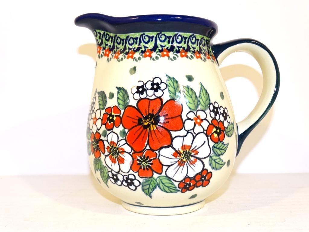 Pottery Avenue 28-oz UNIKAT Stoneware Pitcher - 951-326AR Empress