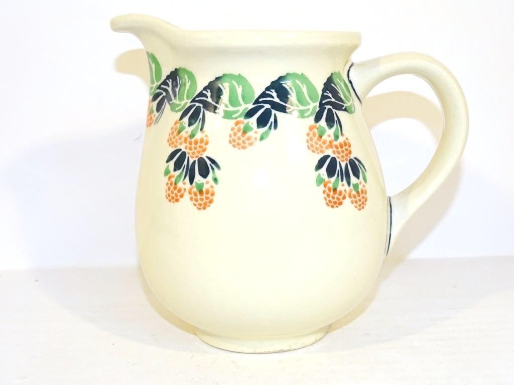 Polish Pottery 3.6 Cup RAZBERRY Pitcher | CLASSIC