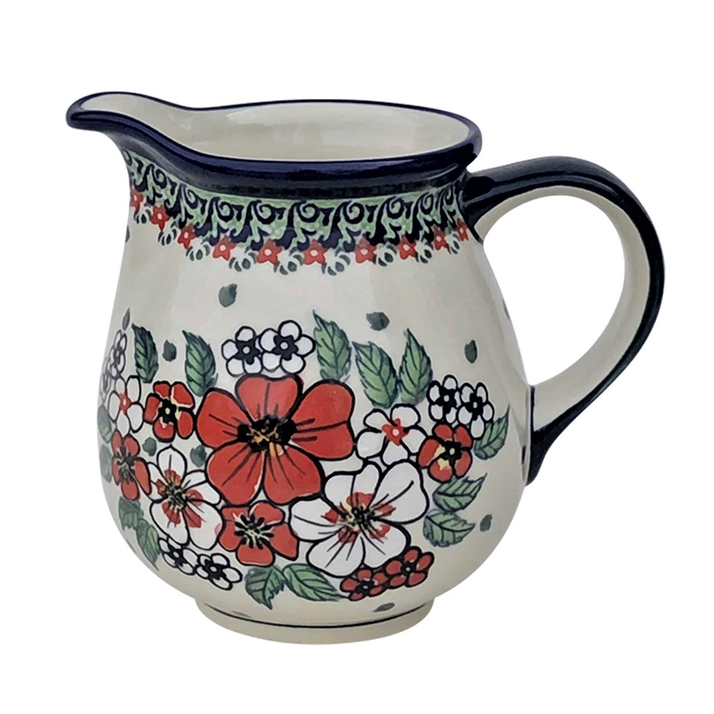 Pottery Avenue 28-oz UNIKAT Stoneware Pitcher - 951-326AR Empress