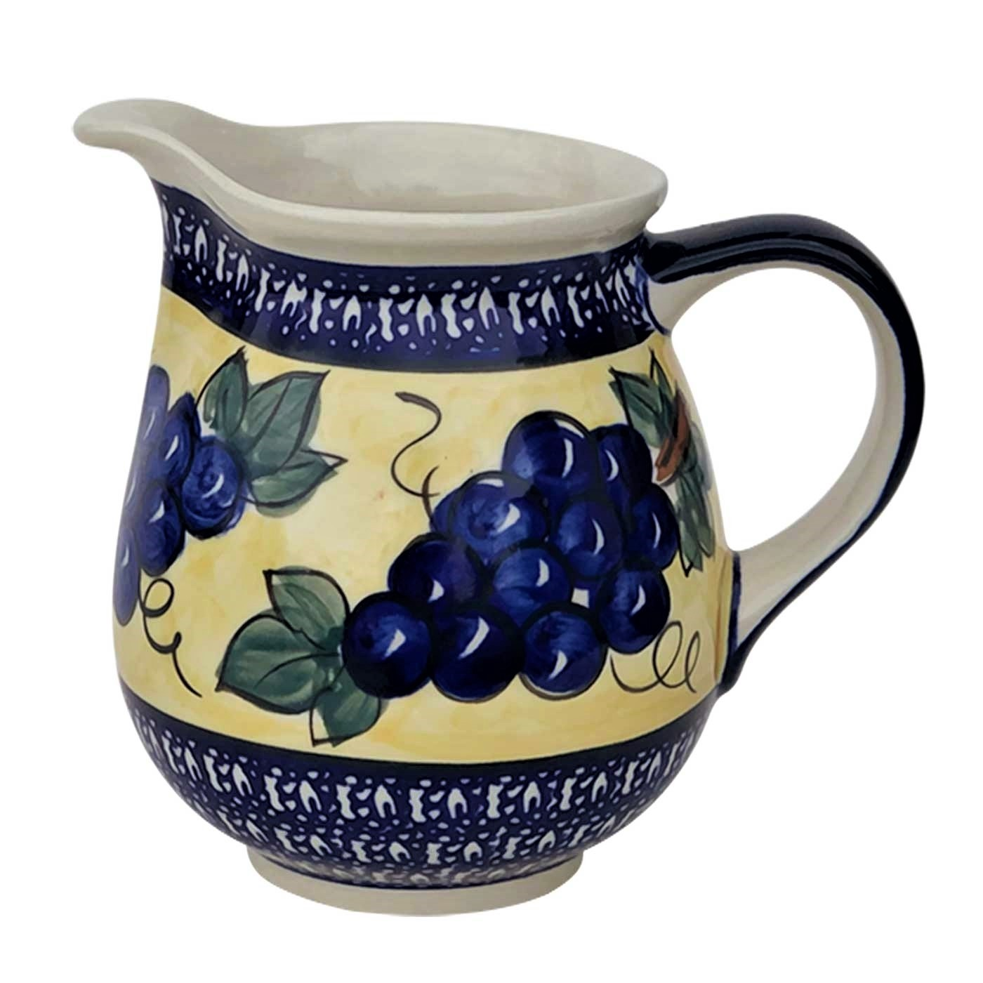 Pottery Avenue Medium Stoneware Pitcher - 951-DU8, 3.6-cup