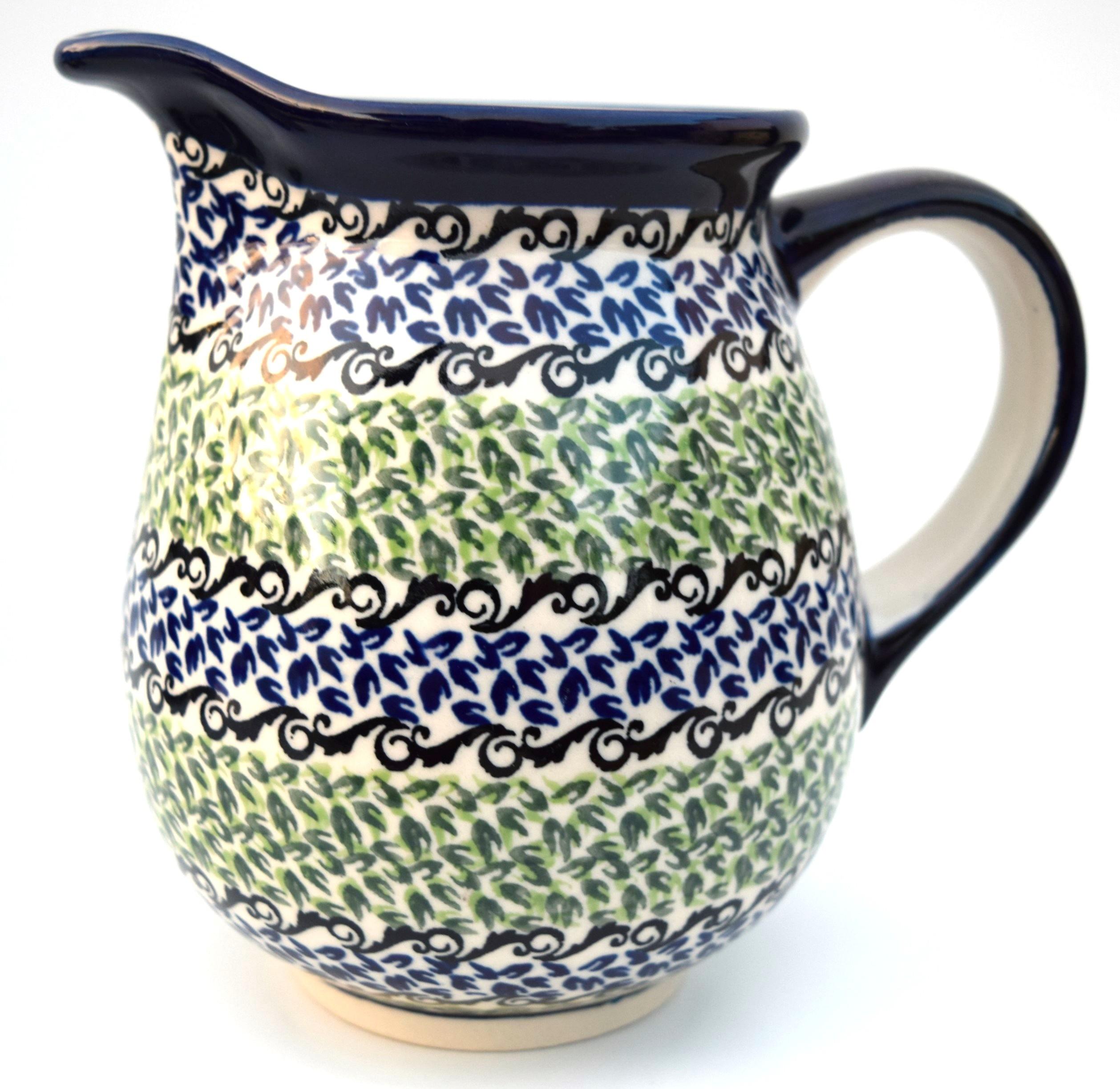 Pottery Avenue 3.6 Cup CELEBRATE Stoneware Pitcher | CLASSIC