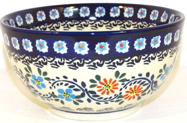 Polish Pottery 2 Cup HERITAGE HOME Cereal Bowl | CLASSIC